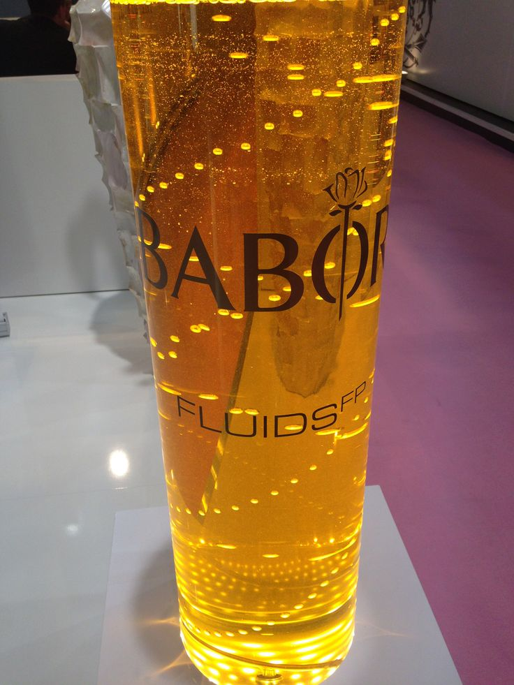 Gigantic fluid from BABOR at Beauty Dûsseldorf 2014