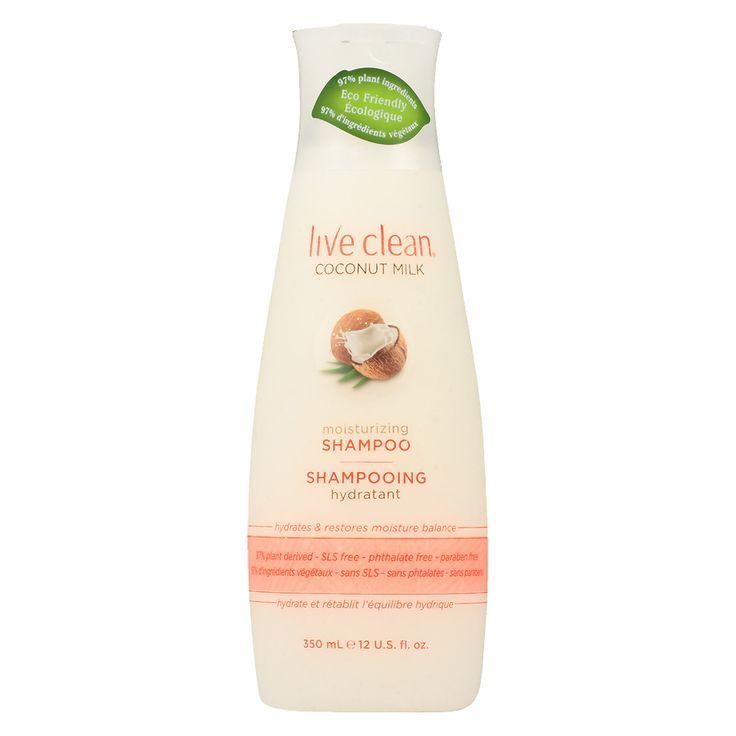 Live Clean Moisturizing Shampoo Coconut Milk