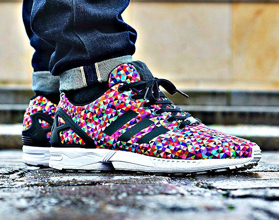 8db69254cc3e4 Adidas Zx Flux Multicolor Prism softwaretutor.co.uk