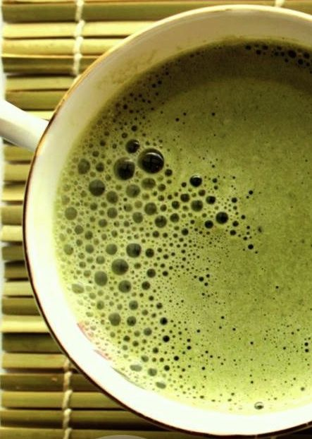 Interesting article about Starbucks Matcha Latte.  Includes a recipe to make your own healthier version..