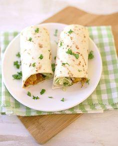 Wraps met krokante kip | Flairathome.nl