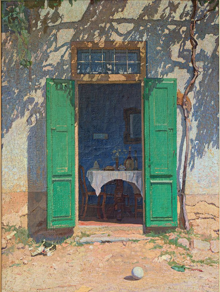 A member of the post-Macchiaioli movement, the British-Italian painter Llewelyn Lloyd is best known for his landscapes, now on display at Villa Bardini.