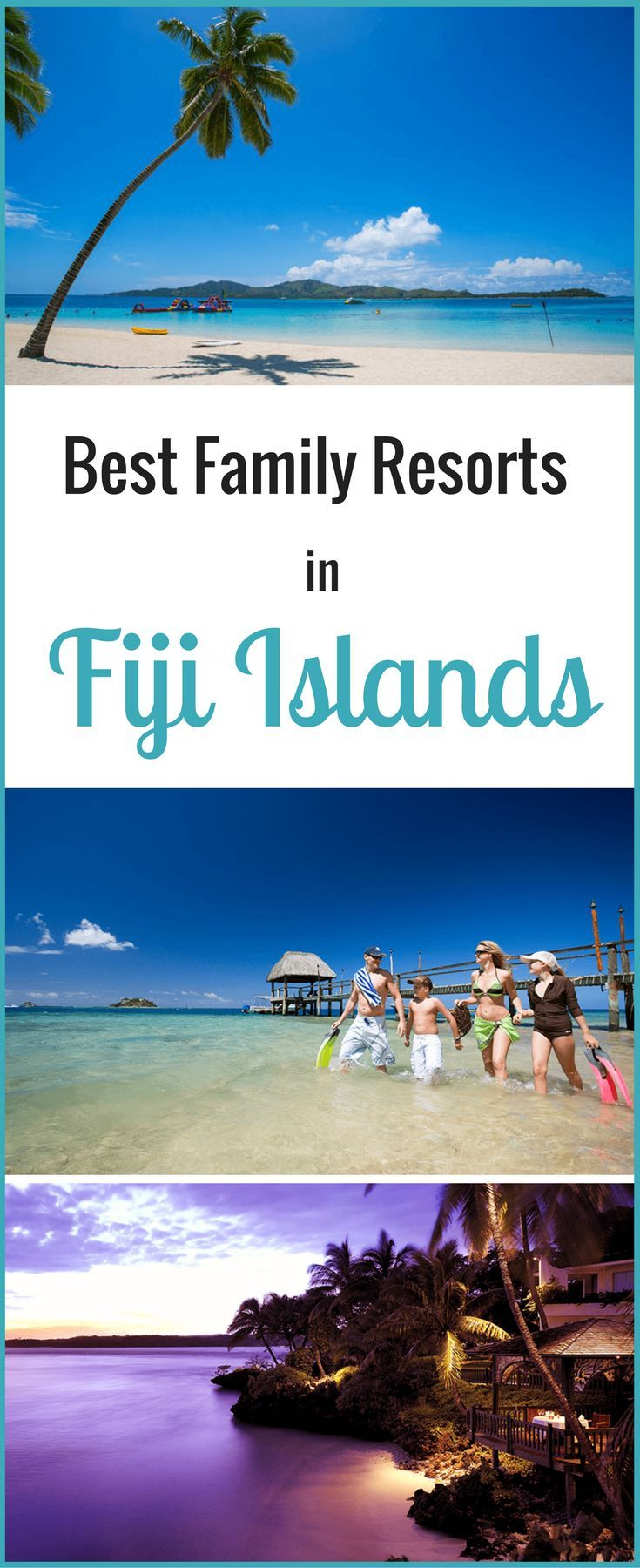Best family resorts in Fiji. Planning a Fiji family holiday? Need tips on where to stay in Fiji? Here are the 5 Best Family Resorts in Fiji for your family holiday to the Fijian Islands. FamilyTravel #Fiji