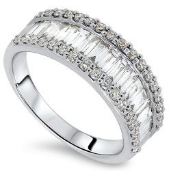 1.04ct 51 Stone Diamond Ring