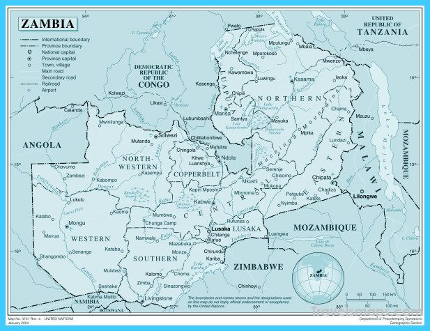 Zimbabwe On The Map - Zimbabwe On The Map Of The World Or
