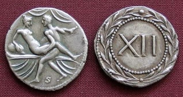 Ancient Roman coins depict sundry sexual acts, but what were they for?