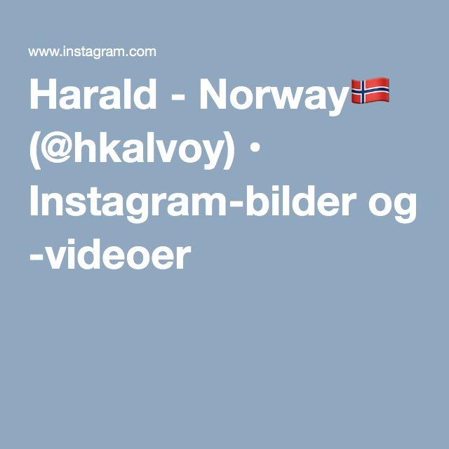 Harald - Norway (@hkalvoy) • Instagram-bilder og -videoer