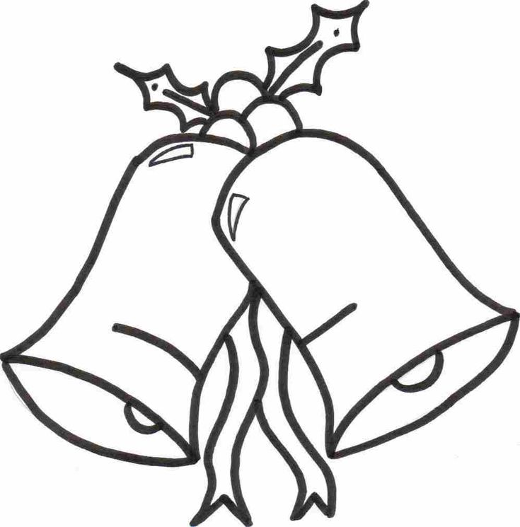 Dorable Christmas Bells Coloring Page Pictures - Framing Coloring ...
