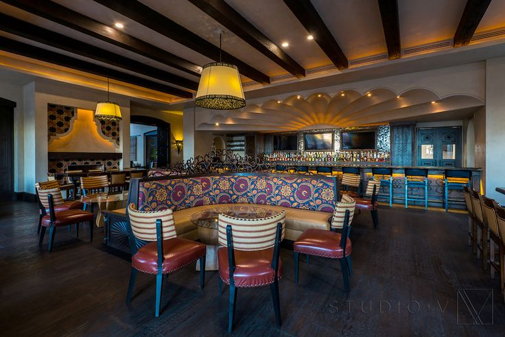 Hotel Bar Angie, Grand Solmar, Cabo San Lucas, Mexico by Studio V Interior Architecture & Design