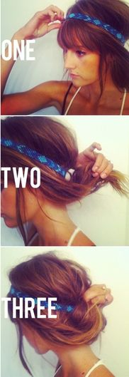 15 Hair Ideas You Need to Try This Summer | Beauty High...I think with my new length this has the potential to work.