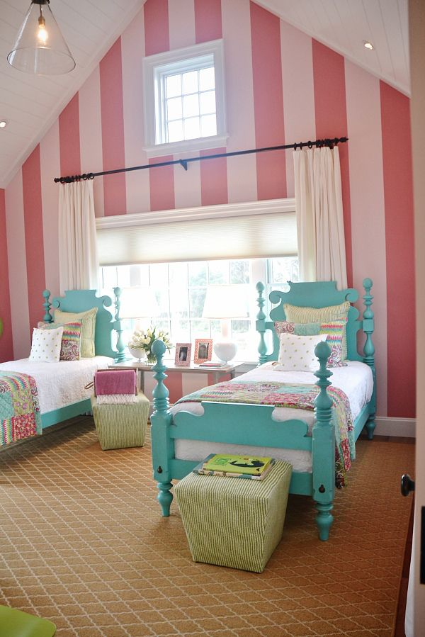 HGTV Dream Home 2015. Shared Girls RoomsTeal ... Part 77