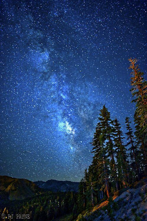 Milky Way, Mammoth Mountain, California