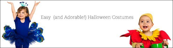 24 easy homemade Halloween costumes #halloween #costumes #diy #cute #family #kids