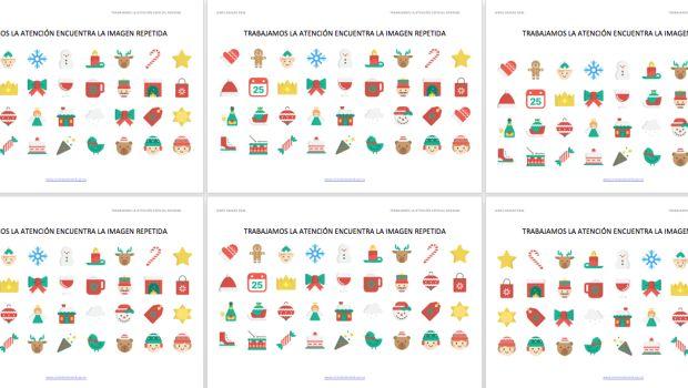 trabajamos-la-atencion-encuentra-la-imagen-repetida-especial-navidad