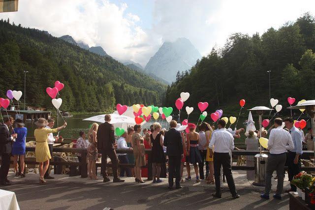 Bunte Sommerherzen - Ballonflug Hochzeit
