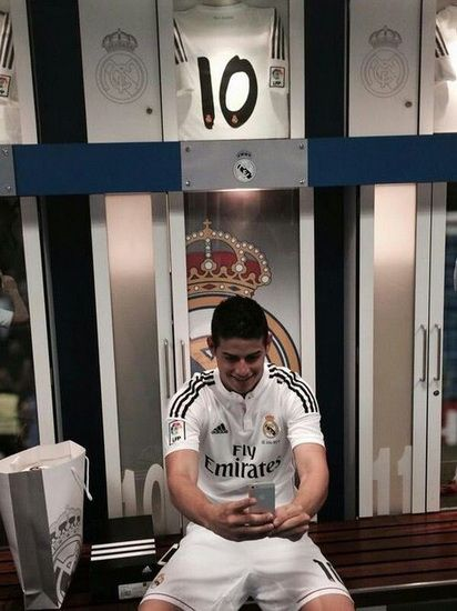 JAMES Real Madrid 2014 2015