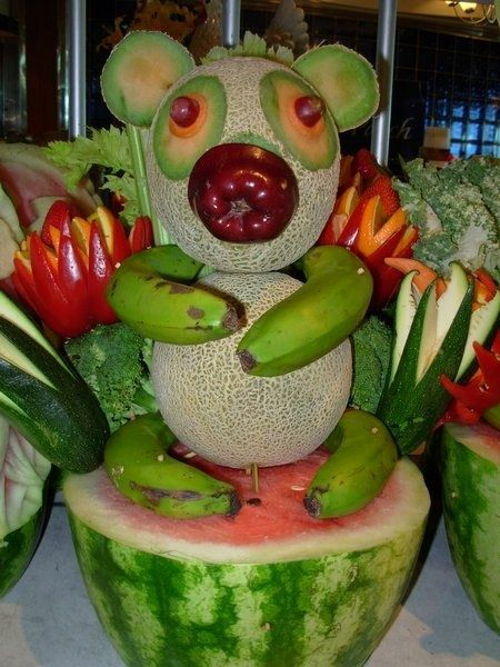 pandinha de frutas