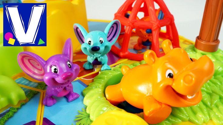 Настольная игра для детей Мышеловка от Хасбро Hasbro toys Mouse trap game Family fun. Влад, Кирилл и мама играют в настольную игру от Хасбро - Мышеловка. Has...