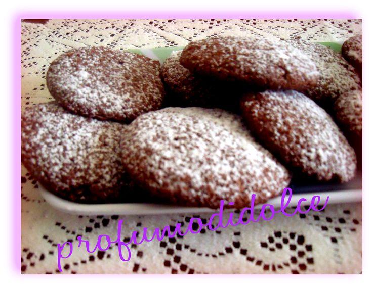 ......e per merenda i biscotti alla nutella con the o cioccolata calda..... http://blog.giallozafferano.it/profumodidolce/biscotti-di-an…tate-e-nutella/
