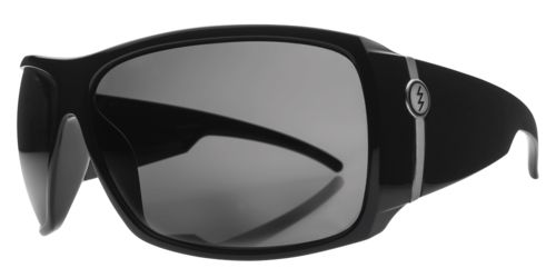 Big Beat Sunglasses in Gloss Black with Grey Lenses by Electric. #Electric #Sunglasses #Australia