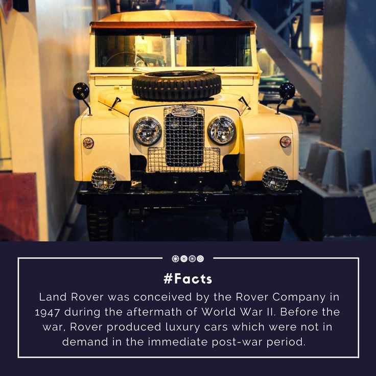 The Land Rover Cars were inspired from the wartime Jeeps, due to the sturdy body these were ideal for carrying the heavy implements. They entered production in 1948 termed the Series I.  #factfriday #doyouknow #facts #landrover #vintagecars #vintagetransport #vintagevehicles #transportmuseum #exhibit