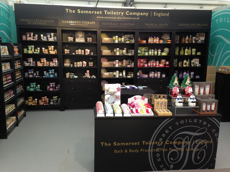 The Somerset Toiletry Company Stand At Home Gift Trade Show 2014 Held In Harrogate