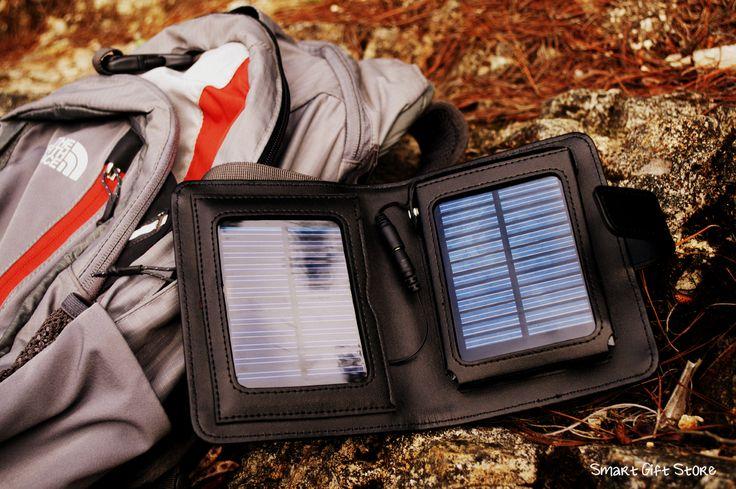 Cargador solar portatil, ahora puedes despreocuparte por la carga de tu GPS, iPod o celular! con la luz solar puedes tener carga todo el tiempo! funciona con corriente normal también. $120.000 COP regalosinteligentes@outlook.com http://smartgiftstore.webnode.es/