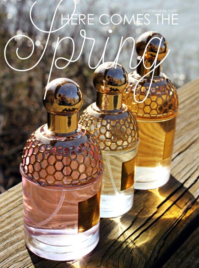 Best Spring Fragrance, Guerlain Aqua Allegoria, Rosa Flora review, Lys Soleia review, Herba Fresca review