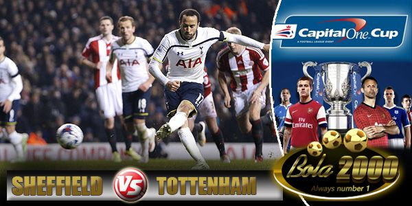Prediksi Skor Bola Sheffield United vs Tottenham Hotspur 29 Jan 2015