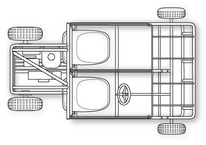 2 Seater Go Kart plans illustration
