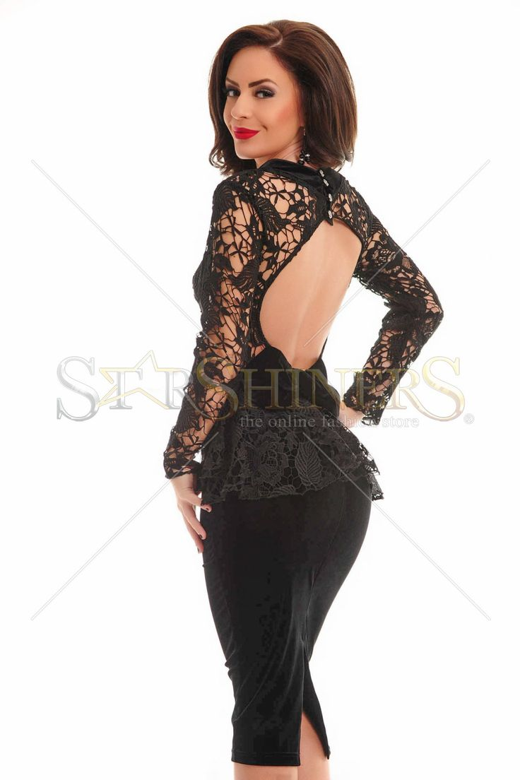 Artista Imperial Lady Black Dress