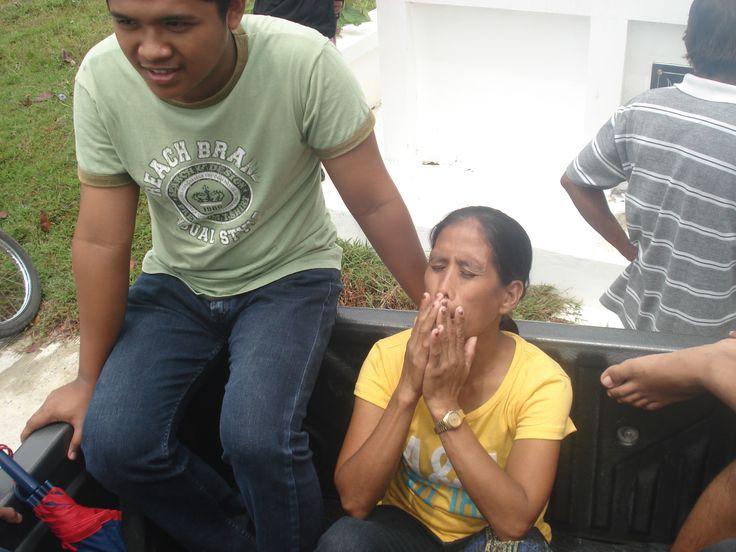 My aunt..farewell!!!