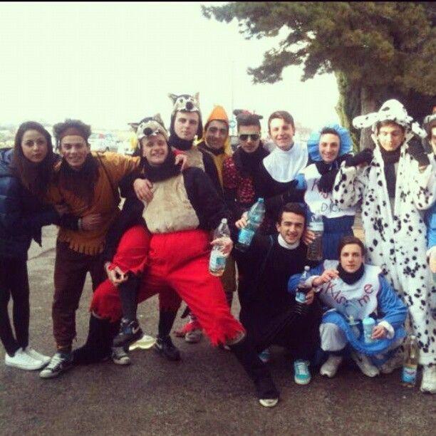 "@c_h_i_a_ra's photo: ""#montefiore#carnevale#2013#memories#friends"""