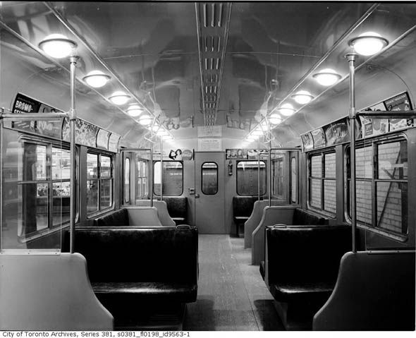 How the TTC marketed itself, Vintage Edition