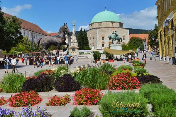 Pécs, a mediterrán hangulatok városa