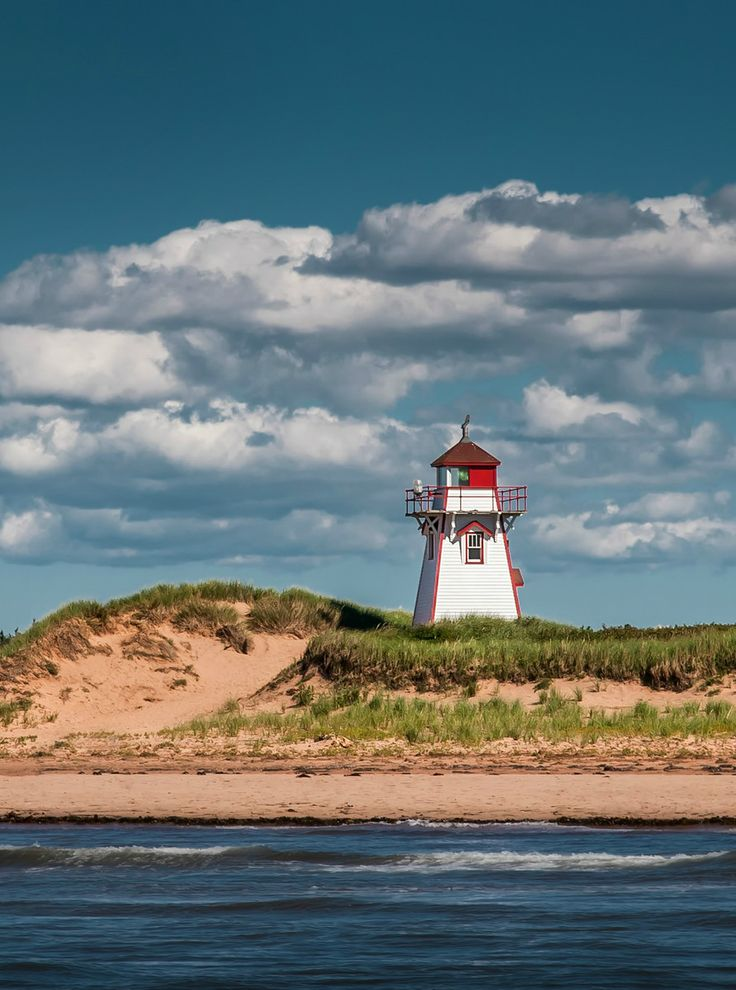 HDR Landscape: Covehead Harbour Lighthouse (Prince Edward Island) - photo by Viktor Elizarov from www.PhotoTraces.com