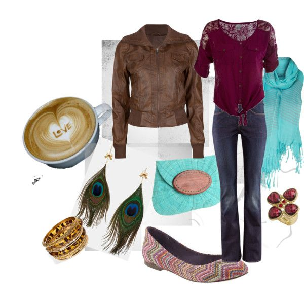"""For cozy fall days with  at my fav coffee shop   """"Fashion Under $50"""" by melissa-nagel-heerebout on Polyvore"""