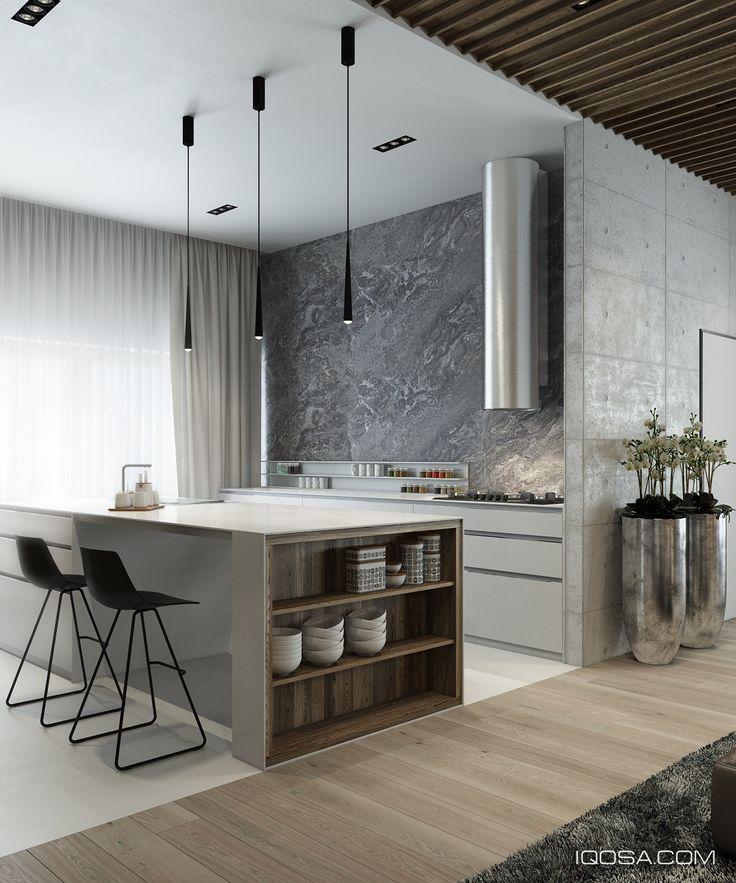 4 elegantes interiores donde la madera ocupa un lugar central