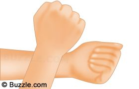Rubbing Wrists Against Each Other - The simplest acupressure technique to get relief from nausea is rubbing both the wrists against each other. You can keep doing it until there is relief from nausea. It will also relieve you from uneasiness and discomfort. Read more at Buzzle: http://www.buzzle.com/articles/pressure-points-for-nausea.html