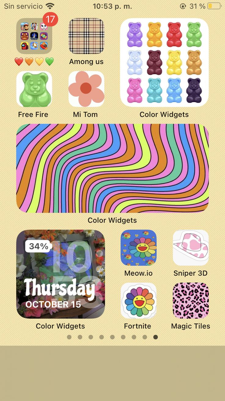 This cute fall aesthetic theme that'll give you all the autumn. iOS 14 | Homescreen iphone, Iphone hacks, Iphone layout