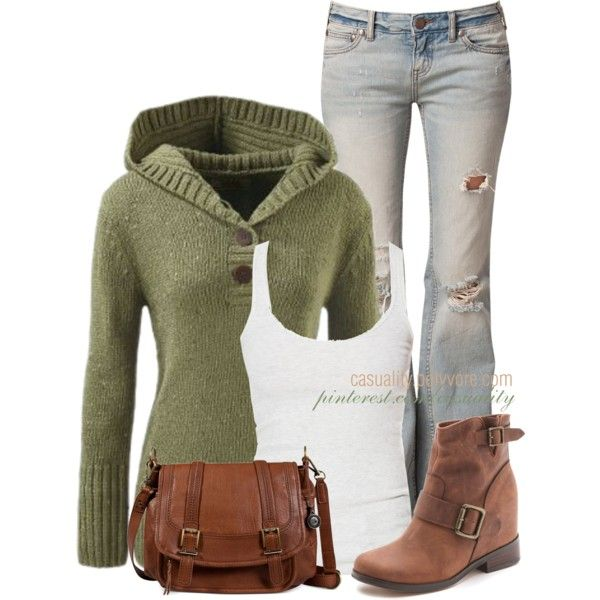 """""""Kamet Peak Sweater & Boots"""" by casuality on Polyvore"""