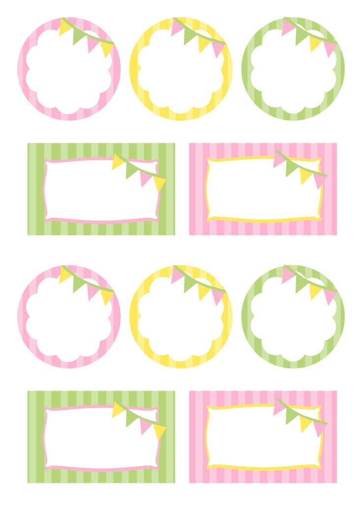free printable food labels | you free printables below are all the printables i designed for my ...