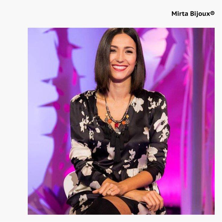 Mirta Bijoux Look della settimana Novembre 2016 LOOK DELLA SETTIMANA DI CATERINA BALIVO:  COLLANA ETNICA  BY MIRTA BIJOUX®