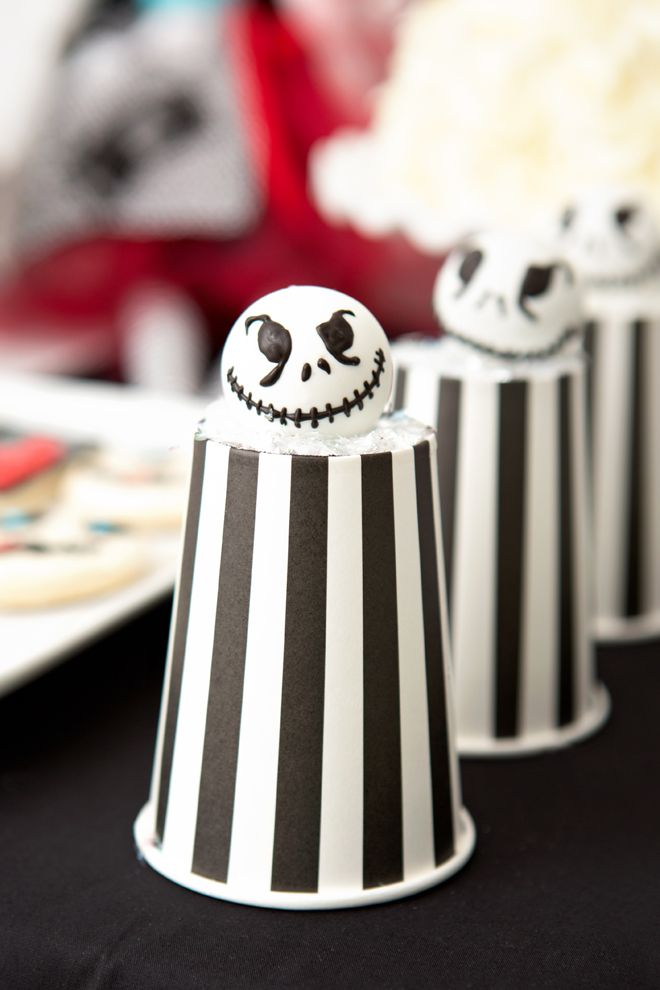 tim burton inspired halloween party - Halloween Social Ideas