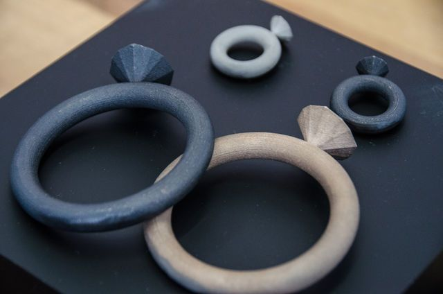 #jewellery by #BYAMT: #3dprinted in #metals #dutch #design