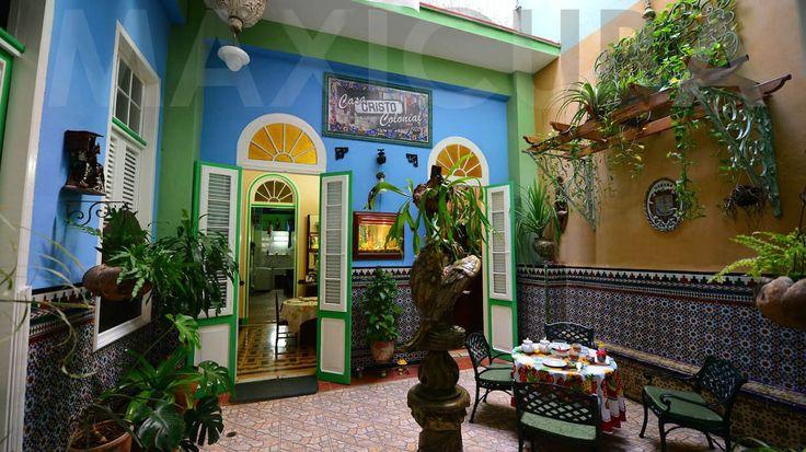 Casa Cristo Colonial (Habana Vieja). Llena de encanto colonial