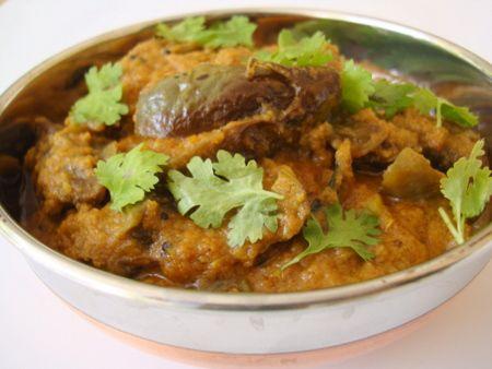 Stuffed Eggplant Curry (Bagara Baingan)