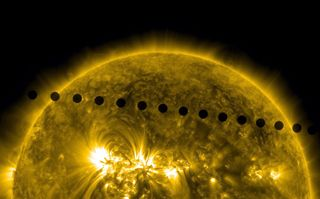 For all, it was surely a once-in-a-lifetime chance to view the planet Venus as it made its transit past the sun these past two days within view of millions of people on Earth. The last Venus transit was in 2004, and the next pair of events will not happen again until the years 2117 and 2125