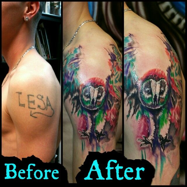 Tattoo Designs Deepak: Before And After 1 Session On Gunner Check Out Sick