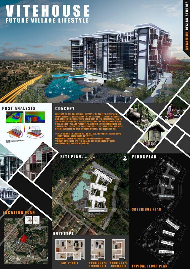17 mejores ideas sobre laminas de presentacion for Laminas arquitectura